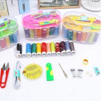 #120 Set Alat jahit set peralatan BENANG JARUM lengkap Sewing box