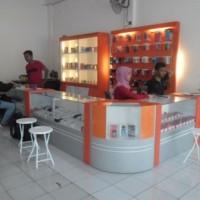 Jual Etalase Display Interior Toko HP Smartphone asesoris Semarang