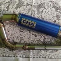 harga Knalpot CHA Stainless steel Honda beat karbu/Fi, Yamaha Mio Tokopedia.com