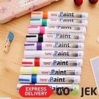 Spidol Ban Toyo Paint Marker SA 101 ORIGINAL