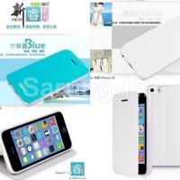 Iphone 5C Mofi Core Leather Case Flip Cover Armor Bumper casing mewah