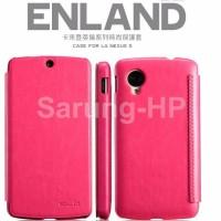 Jual LG Nexus 5 - Coklat Kalaideng Enland Leather Case Flip Cover elegant Murah