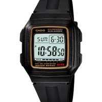 harga Promo !!!jam Tangan Digital Casio Original F-201wa-9a 10 Years Battery Tokopedia.com