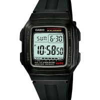 harga Promo !!!jam Tangan Digital Casio Original F-201wa-1a 10years Battery Tokopedia.com
