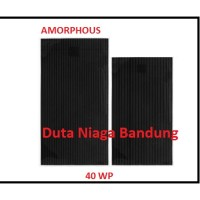 Solar cell 40 watt. Amorphous / Solar panel