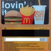 Voucher McDonald 's / McD Gift Card Rp. 100.000 (Maret 2018)