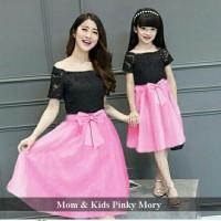 harga baju kembaran terbaru | couple dress ibu anak | Mom & Kids pinky mory Tokopedia.com