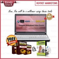 PAKET Video Scribe Dollar | Bonus Software Sparkol + Graphics KEREN!