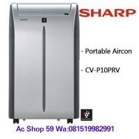 AC PORTABLE SHARP 1 PK'CV-P 10 TCY,PLASMACLUSTER,AUTO SWING LOUVERS