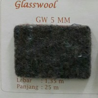 Karpet Glasswool Peredam Tebal 5mm Buana