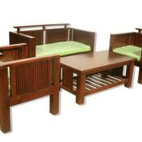 Kursi Sofa Ruang Tamu Minimalis Kayu Jati Mewah Murah