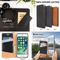 Flip Case Ringke Signature Leather Flip Case Apple iPhone 7 Plus