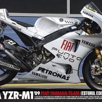 mokit tamiya 1/12 motogp Yamaha YZR M1 09 Estoril Rossi