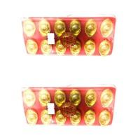 souvenir china dan hongkong pajangan uang emas golden money