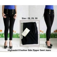 celana panjang wanita/High waist/skinny/soft jeans