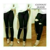 celana panjang wanita/sobek/skinny/soft jeans