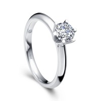 Cincin Tunangan Kawin Pernikahan Berlian Emas Wedding Ring Eternity