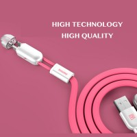 Remax 2in1 Kabel Cable Fast Data Charging Lightning Micro USB 2A Asli