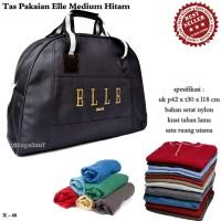 tas wanita / tas travel / handbag elle medium hitam