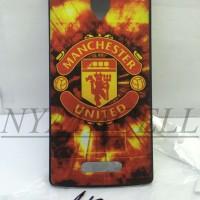 Hardcase Gambar Oppo Neo K 3 R831 R831k Bola Manchester United Club Mu