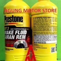 Minyak Rem / Brake Fluid PRESTONE Dot 3 RED ( 1 Liter )