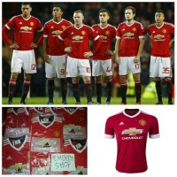 Jual Jersey Mu Home 15/16 Manchester United Murah