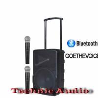 harga Portable Wireles Meeting Goethevoice 10inchi 250watt Pakai Bluetooth Tokopedia.com