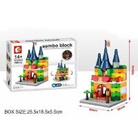 Lego Mini Block Sembo Bangunan Toko Mainan SD6505