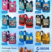 Jual Motif Baru Sabuk Bonceng Motor Anak OSCAS - Doraemon Murah