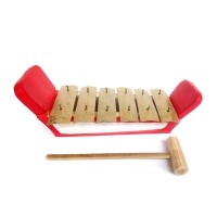 Mainan Tradisional Miniatur Gamelan Gambang 6 Bilah