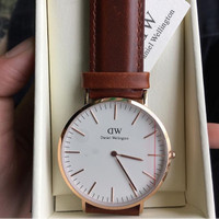 Jual Jam Tangan DW Daniel Wellington Classic 40mm Rose Gold Silver Original Murah