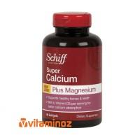 Schiff Super Calcium Plus Magnesium - 90 Softgel