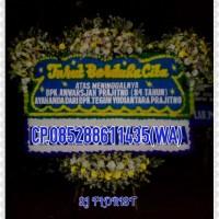 Bunga Papan Ucapan Duka Cita Model 3 Jambul