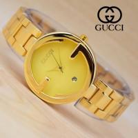 Jam Tangan Wanita Gucci Logo Rantai