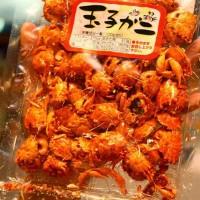 Mini Crab Snack Japanese Snack Cemilan Makanan Ringan Kepiting Jepang