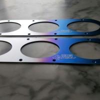 Hks Kansai Diffuser Bumper Titanium 3 Holes
