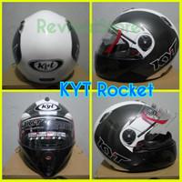 Helm KYTx Rocket retro / helm murah / full face