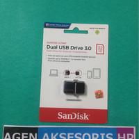 OTG Sandisk Ultra ORIGINAL 32GB FULL Dual Drive 3.0 2.0 Android iOs