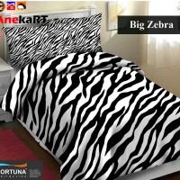 Bahan Kain Sprei Karakter Big Zebra, Seprai Katun, F78