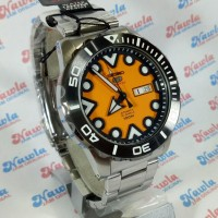 Seiko 5 Sports SRPA05K1 Automatic Orange Face | Jam Pria SRPA05