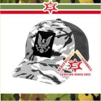 Topi Bordir Baseball Pria Garuda Militer Raphel Military Tentara Forc