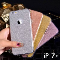 FOR IPHONE 7 PLUS - SOFT JELLY CASE GLITTER BLING CANDY CASING SILIKON