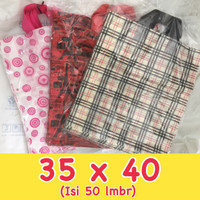 Kantong Plastik Softhandle Motif 45/35x40