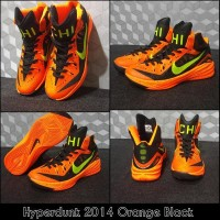Jual Perlengkapan Olahraga sepatu basket hyperdunk 2014 orange Berkual