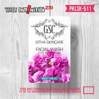 Jual botol toner facial wash sabun kosmetik sticker label kemasan PKLSK-511 Murah