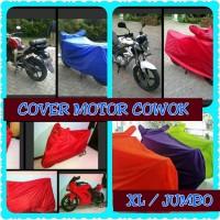 harga Cover Motor Cowok Mantel Motor Sport Jumbo XL Vixion Tiger Nmax Tokopedia.com