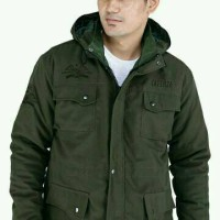 Jual jaket pria parka MRL-12 / hoodie army tad tactical premium Murah
