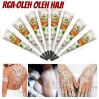 Henna Putih Body Paint Cone