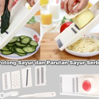 Alat Potong Sayur 9 in 1 Slicer Cutter Chopper Nicer Dicer Kitchen Set