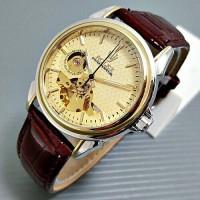 Jam Tangan Automatic Unisex Rolex Elegant leather Murah Limited 3